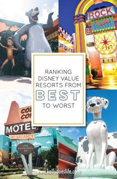 Planning a Walt Disney World location and wondering about the resorts? Check out this complete comparison of all Disney Value Resorts ranked best to worst! Disney Value Resorts, Disney World Hotels, Disney World Vacation, Disney Cruise Line, Disney Vacations, Walt Disney World, Disney On A Budget, Disney World Planning, Best Vacation Destinations