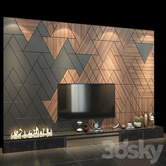 Tv Cabinet Design Modern, Tv Unit Interior Design, Tv Unit Design, Tv Wall Design, Wall Tv, Tv Wall Decor, Living Room Sofa Design, Living Room Designs, Modern Tv Wall
