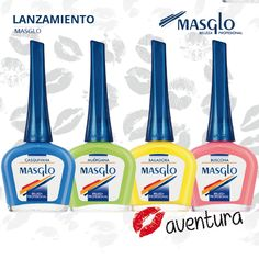 Colección Aventura #SoyMasglo #Masglo #MasgloLOVERS #ColeccionAventura #NailPolish