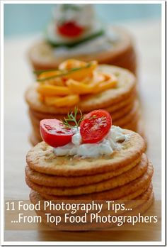 Food Photography Tips - Food Photographers
