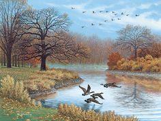"""""""Wings in the Mist""""  by John Sloane."""