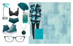 Teal~ by kaitlynbowden on Polyvore featuring polyvore, Mode, style, Fantasie, Dorothy Perkins, Converse, Hinge, Casetify, Corinne McCormack, Designers Guild, IdeaNuova, fashion and clothing