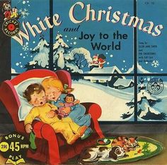 White Christmas 45 rpm record