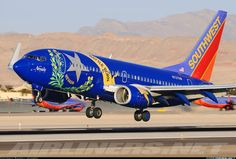 Southwest Airlines N727SW Boeing 737-7H4 aircraft picture