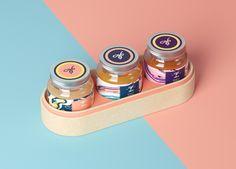 """Empfohlenes @Behance-Projekt: """"Jola Honey Mix"""" https://www.behance.net/gallery/52817593/Jola-Honey-Mix"""