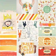 April mood board by ania-maria at Inspiration Boards, Color Inspiration, Paper Supplies, Studio Calico, Mood Boards, Something To Do, Scrapbook, Creative, Projects