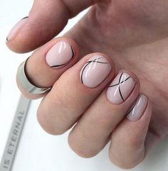 Nail patterns or nail art is definitely a uncomplicated pra… Maroon Nail Designs. Round Nail Designs, Maroon Nail Designs, Nail Art Designs, Nails Design, Minimalist Nails, Manicures, Gel Nails, Nail Polish, Toenails