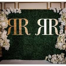 Image result for floral and boxwood backdrop