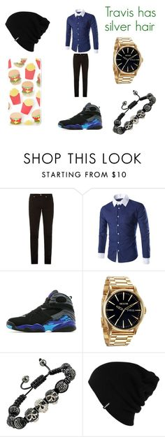 """Travis' Maps outfit"" by hannah-may-malone on Polyvore featuring McQ by Alexander McQueen, Jordan Brand, Nixon, Patagonia, Forever 21, men's fashion and menswear"