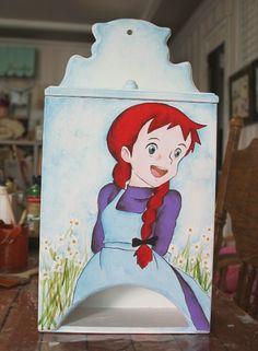 빨강머리앤 커피보관함-스마일앤 : 네이버 블로그 Anne Shirley, Anne Of Green Gables, Decoupage, Mona Lisa, Artsy, Cartoon, Disney Princess, Disney Characters, Painting