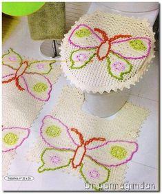 Emy's Gallery: Crochet Bath Set Collection