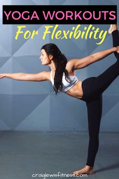 Whether you have tried Yoga before or not, I'm sure you are aware of the importance of flexibility?  I think it's fair to assume that most of us know we should be a little more flexible than we are right now. Daily Yoga Routine, Yoga Routine For Beginners, Fit Board Workouts, Yoga Workouts, Scoliosis Exercises, Stretches, Cool Yoga Poses, Yoga For Weight Loss, Yoga Tips