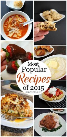 I've tried a bunch of these and they are great! Easy delicious recipes perfect for breakfast, dinner, and even dessert!
