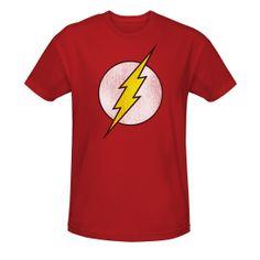 The Flash Distressed Logo T-Shirt