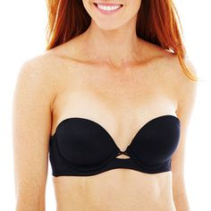 f82e083b9a9 Maidenform Love The Lift Natural Boost Multiway Underwire Push Up Strapless  Bra-09458
