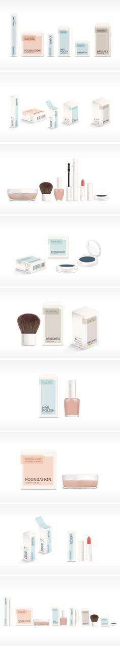 Niles Jord Cosmetic Packaging by Camilla Heegaard Severinsen | Fivestar Branding – Design and Branding Agency & Inspiration Gallery