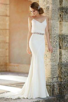 Vestido novia para matrimonio civil