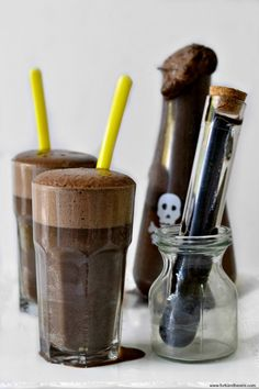 Chocolate Egg Cream Soda (Halloween Swamp Water)