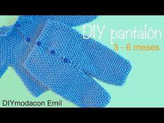 Pantalón de bebe a crochet parte de conjunto paso a paso - YouTube