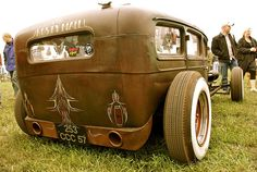 Rat Rod showing welding seams - Picture by VonGerman on Flickr