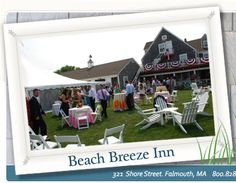 Cape Cod Hotels, Resorts and Weddings in Massachusetts beach breeze inn in falmouth Cape Cod Hotels, Places Ive Been, Places To Go, Falmouth, Outdoor Venues, Tents, Massachusetts, Resorts, Travel Ideas