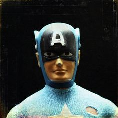 Mego Captain America - by snailbooty