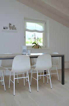Casa M Sedie Form by Normann Copenhagen Copenhagen, Dining Table, House, Furniture, Home Decor, Decoration Home, Home, Room Decor, Dinner Table