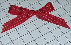 Finished Two Loop Bow