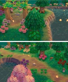 Léonie all your city has a sinification ♥ - Animal Crossing Wild World, Animal Crossing Pocket Camp, Animal Crossing Game, Acnl Paths, Leaf Animals, Ac New Leaf, Happy Home Designer, Dawn And Dusk, Kawaii