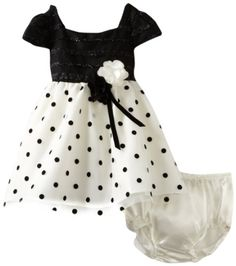 Sweet Heart Rose Baby-girls Infant Polka Dot Occasion Dress, Black/White, 18 Months Sweet Heart Rose,http://www.amazon.com/dp/B008PSO1CC/ref=cm_sw_r_pi_dp_CRAesb1C7TJAPFTK