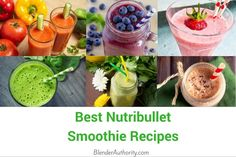 Here are 15 of the best Nutribullet recipes. Includes smoothie recipes for weight loss, detox, inflammation, breakfast, kid friendly, and more.