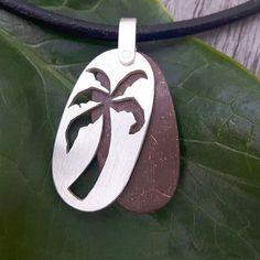 .  Palm trees  Ocean breeze  Salt in the air  Sand in my hair  .  .  Handmade pendant of 925/-silver and coconut wood .  #allineed #palmtree #ocean #love #oceanlover #beachlife #surf #surfing #oceanjewel #jewelry #instajewelry #surfjewelry #silver #coconutwood #cocomoment #cocoloco #wood #sustainable #arttowear #surfer #malejewelry #leather #pendant #handmade #handcrafted #necklace #tropical #endlesssummer