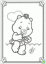 Care Bears coloring pages, colouring The Care Bears- DinoKids.org