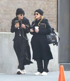 Ashley Olsen Style, Olsen Twins Style, Mary Kate Ashley, Mary Kate Olsen, Basic Outfits, Fall Outfits, Fashion Outfits, Olsen Fashion, Winter Fashion