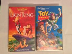#Disney toy #story and the lion king vhs #video bundle,  View more on the LINK: http://www.zeppy.io/product/gb/2/142145775523/