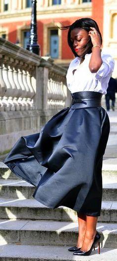 Midi Skirt Glam