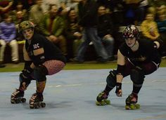 Camo Cazi & Boom Dot Saint  Midnight Sun Roller Girlz  North Pole, Alaska