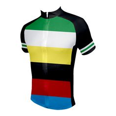 Rugby Cycling Jersey from 83 Sportswear - Front View http://www.cyclegarb.com/rugby-mens-cycling-jersey.html