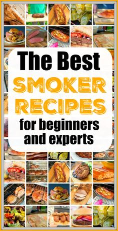 Smoker Cooking smoker recipes for beginners Smoker Grill Recipes, Smoker Cooking, Grilling Recipes, Cooking Brisket, Electric Smoker Recipes, Cooking Meatloaf, Brisket Meat, Traeger Recipes, Smoked Meat Recipes