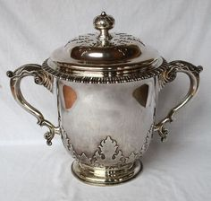 """Magnificent Large English 1909 Sterling Trophy """"Thomas""""   eBay"""