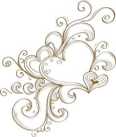 Heart Tattoo Design have dad add this to my shoulder tattoo:) I love the hearts my dad did:)