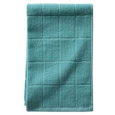 teal / aqua blue kitchen towels - www.target.com - $12 for set of 4