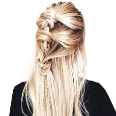 knotted French braid | hait