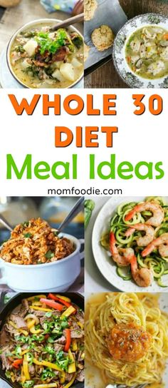 A collection of delicious Whole 30 meal ideas to add to yore meal plan. Recipes that make succeeding at the Whole 30 diet plan so much easier. Get your health back on track! Whole 30 Lunch, Whole 30 Diet, Paleo Whole 30, Whole 30 Recipes, Low Carb Meal Plan, Diet Meal Plans, Meal Prep, Paleo Recipes Easy, Diet Recipes