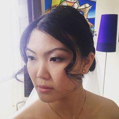 Beautiful bride from today #makeup #hair #natural #wedding #weddingmakeup #asianbride #londonweddings #lashes #lashextentions