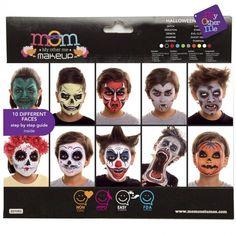 Paleta Maquillaje de Halloween Infantil #maquillajehalloween #efectosespeciales Maquillaje Halloween Infantil, Evil Clowns, Halloween 2020, Witch, Halloween Face Makeup, Pumpkin, Products, Face Makeup, Makeup Kit