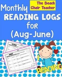 Reading Logs  - MONTHLY  -  Print & Go!
