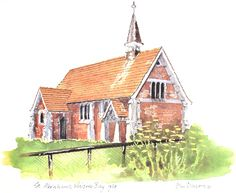 Country Churches of NZ St.Abraham's, Waipiro Bay One Sweet Day, My Ancestors, New Holland, Auckland, Surrey, Genealogy, March, Cabin, Wool
