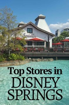Disney Springs is a great place to go when you need a change of pace from the Disney parks. These are the best Disney Springs stores for shopping. Disney World Vacation Planning, Disney World Florida, Disney World Parks, Walt Disney World Vacations, Disney Travel, Disney Cruise, Disney Shopping, Disney Worlds, Disney Planning