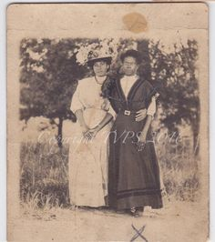 Vintage Photo RPPC Black Americana African by ThatVintagePhotoShop